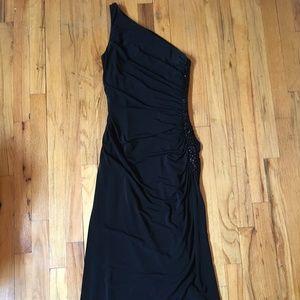 Formal Black Evening Dress